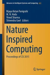 Omslag - Nature Inspired Computing