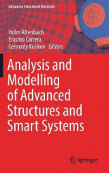 Omslag - Analysis and Modelling of Advanced Structures and Smart Systems