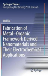 Omslag - Fabrication of Metal-Organic Framework Derived Nanomaterials and Their Electrochemical Applications