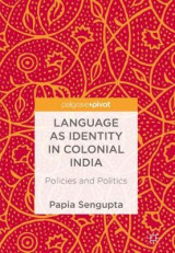 Omslag - Language as Identity in Colonial India