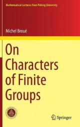 Omslag - On Characters of Finite Groups