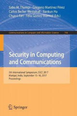 Omslag - Security in Computing and Communications