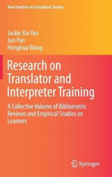 Omslag - Research on Translator and Interpreter Training