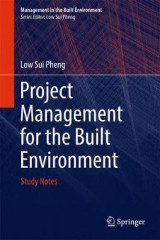 Omslag - Project Management for the Built Environment