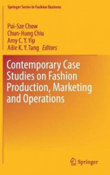 Omslag - Contemporary Case Studies on Fashion Production, Marketing and Operations