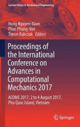 Omslag - Proceedings of the International Conference on Advances in Computational Mechanics 2017