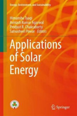 Omslag - Applications of Solar Energy