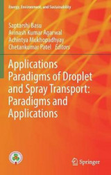 Omslag - Applications Paradigms of Droplet and Spray Transport: Paradigms and Applications