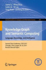 Omslag - Knowledge Graph and Semantic Computing. Language, Knowledge, and Intelligence
