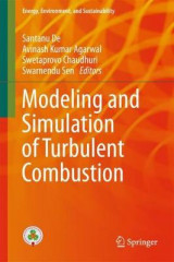 Omslag - Modeling and Simulation of Turbulent Combustion