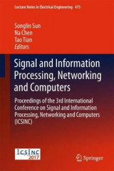 Omslag - Signal and Information Processing, Networking and Computers