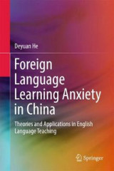 Omslag - Foreign Language Learning Anxiety in China