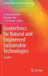 Omslag - Geotechnics for Natural and Engineered Sustainable Technologies