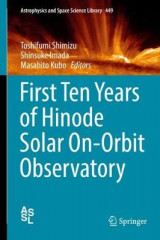 Omslag - First Ten Years of Hinode Solar On-Orbit Observatory