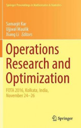 Omslag - Operations Research and Optimization
