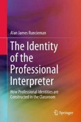 Omslag - The Identity of the Professional Interpreter