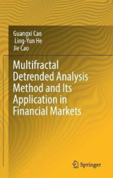 Omslag - Multifractal Detrended Analysis Method and Its Application in Financial Markets