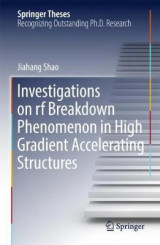 Omslag - Investigations on rf breakdown phenomenon in high gradient accelerating structures