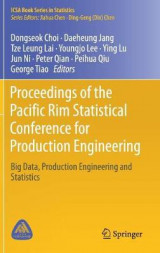Omslag - Proceedings of the Pacific Rim Statistical Conference for Production Engineering