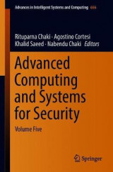 Omslag - Advanced Computing and Systems for Security