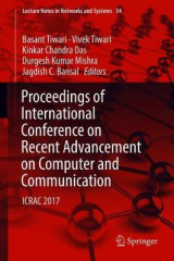 Omslag - Proceedings of International Conference on Recent Advancement on Computer and Communication