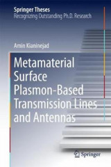 Omslag - Metamaterial Surface Plasmon-Based Transmission Lines and Antennas
