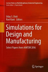 Omslag - Simulations for Design and Manufacturing