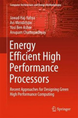 Omslag - Energy Efficient High Performance Processors