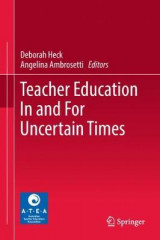 Omslag - Teacher Education In and For Uncertain Times