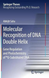 Omslag - Molecular Recognition of DNA Double Helix