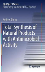 Omslag - Total Synthesis of Natural Products with Antimicrobial Activity