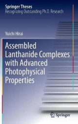 Omslag - Assembled Lanthanide Complexes with Advanced Photophysical Properties