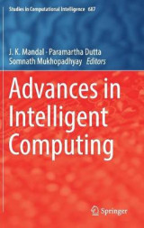 Omslag - Advances in Intelligent Computing