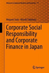 Omslag - Corporate Social Responsibility and Corporate Finance in Japan