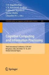 Omslag - Cognitive Computing and Information Processing