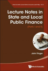 Omslag - Lecture Notes In State And Local Public Finance (Parts I And Ii)