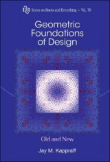 Omslag - Geometric Foundations Of Design: Old And New