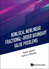 Omslag - Nonlocal Nonlinear Fractional-order Boundary Value Problems