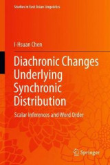 Omslag - Diachronic Changes Underlying Synchronic Distribution