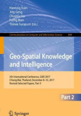 Omslag - Geo-Spatial Knowledge and Intelligence