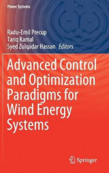 Omslag - Advanced Control and Optimization Paradigms for Wind Energy Systems