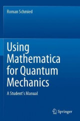 Omslag - Using Mathematica for Quantum Mechanics