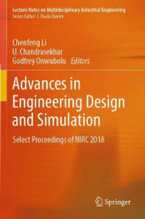 Omslag - Advances in Engineering Design and Simulation