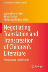 Omslag - Negotiating Translation and Transcreation of Children's Literature