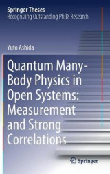 Omslag - Quantum Many-Body Physics in Open Systems: Measurement and Strong Correlations