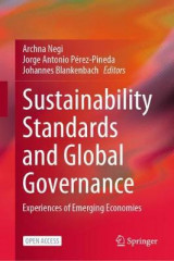 Omslag - Sustainability Standards and Global Governance
