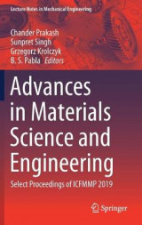 Omslag - Advances in Materials Science and Engineering