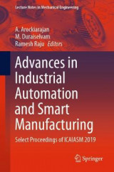 Omslag - Advances in Industrial Automation and Smart Manufacturing