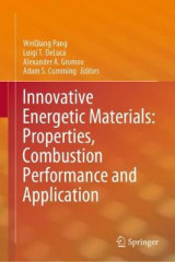 Omslag - Innovative Energetic Materials: Properties, Combustion Performance and Application