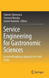 Omslag - Service Engineering for Gastronomic Sciences